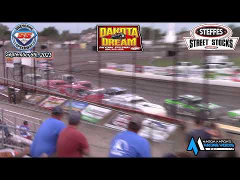 Sheyenne Speedway WISSOTA Street Stock A-Main (2021 Dakota Dream) (9/6/21) - dirt track racing video image