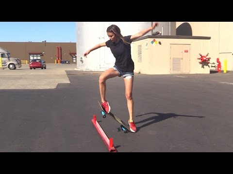 GIRL LEARNS HER FIRST SKATEBOARD TRICKS |  EP 3 OLLIE FIRST STEPS - UC9PgszLOAWhQC6orYejcJlw