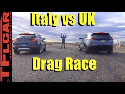 2018 Ranger Rover Velar vs Alfa Romeo Stelvio vs Gold Mine Hill Off-Road Review