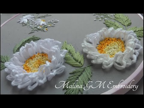 Embroidery:Bouquet White Flowers | Beautiful Hand Design