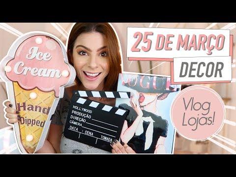 Vlog: Decorações incríveis na 25 de Março! As Lojas agora vendem ONLINE! #pinterest #tumblr