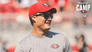 John Lynch Live During Day 2 of Joint Practices in Denver  | San Francisco 49ers
