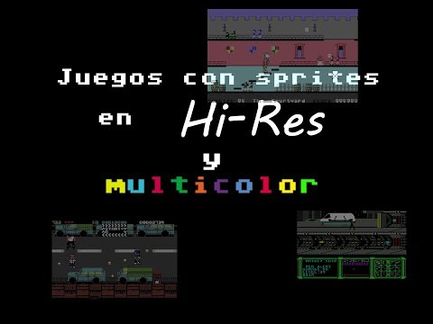 Directitos in the Middle of the Night: Jugando un par de horas a Juegos con Sprites en Hires y multi