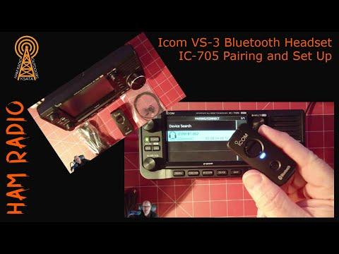 Icom VS-3 Headset with Icom IC-705
