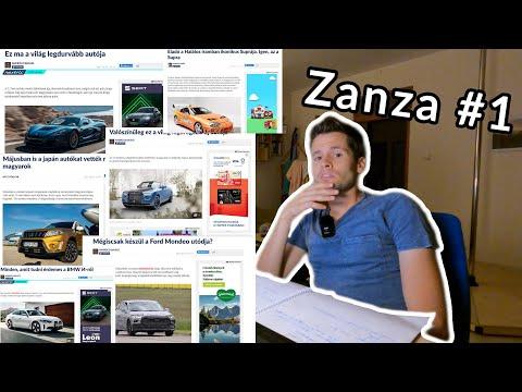 Nem lehet káromkodás az új magyar rendszámokon – Zanza #1 (link az első kommentben!)