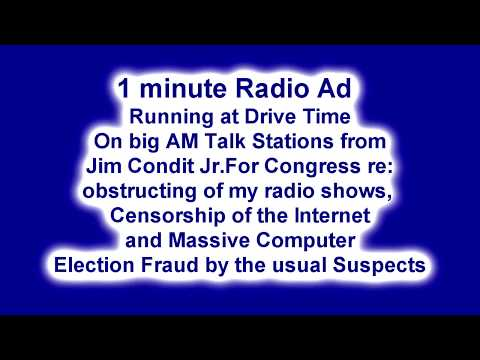 Radio Ad on Radio and Internet Censorship! READ DESCRIPTION