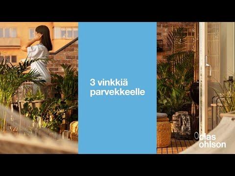 3 vinkkiä parvekkeelle - Clas Ohlson