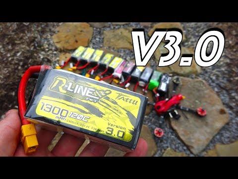 Tattu R-Line V3.0 1300mAh 6S Review   The Best Racing Battery? - UC2c9N7iDxa-4D-b9T7avd7g