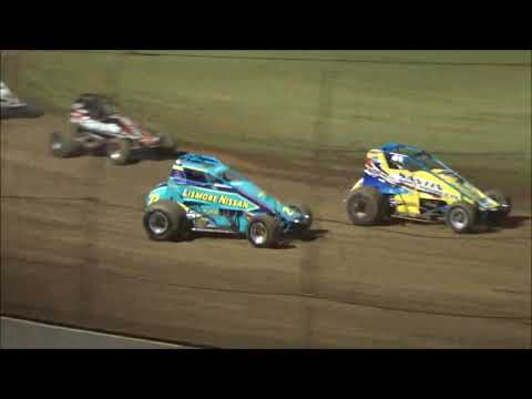 Wingless Sprints Feature - Lismore Speedway - 13.01.18 - dirt track racing video image