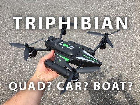 WLtoys Q353 Aeroamphibious 3 in 1 RC Quadcopter Review - UCLqx43LM26ksQ_THrEZ7AcQ