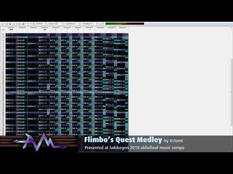 Uctumi - Flimbo's Quest Medley (openMPT view)