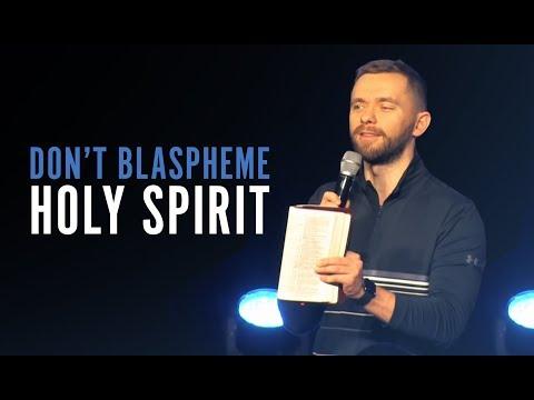 Don't Blaspheme, Fellowship with Holy Spirit  Pastor Vlad