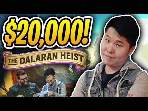 $20,000 Dalaran Heist Tournament Showdown Part #1 w/ RegisKillbin, Trump, Kripparrian Firebat & more