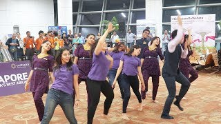 VISTARA Crew's AMAZING Dance before First International Flight Takeoff to Singapore