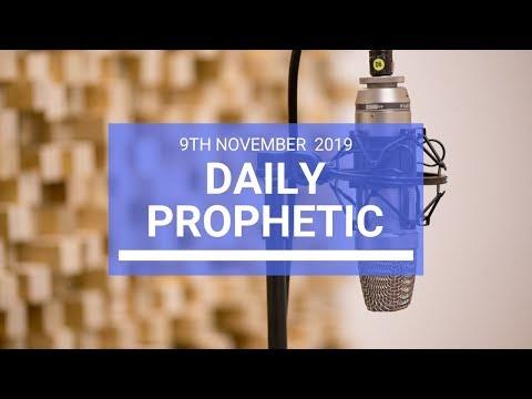 Daily Prophetic 9 November Word 2