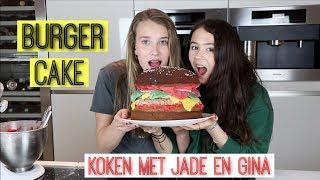 SUPER GROTE HAMBURGER CAKE BAKKEN!