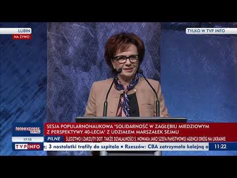 Wystąpienie Marszałek Sejmu RP Elżbiety Witek - 29 września 2020 r.