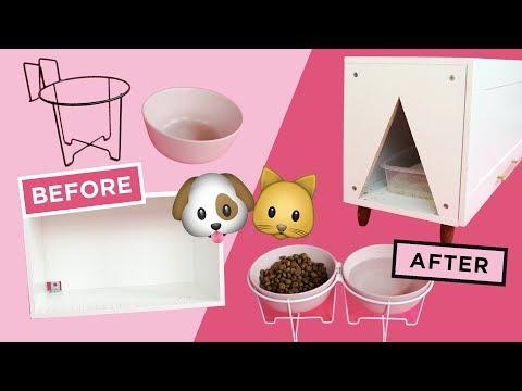 MAKING PET DIYs FROM IKEA ITEMS