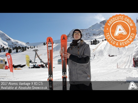 2016 / 2017 | Atomic Vatnage X 83 CTi Skis | Video Review