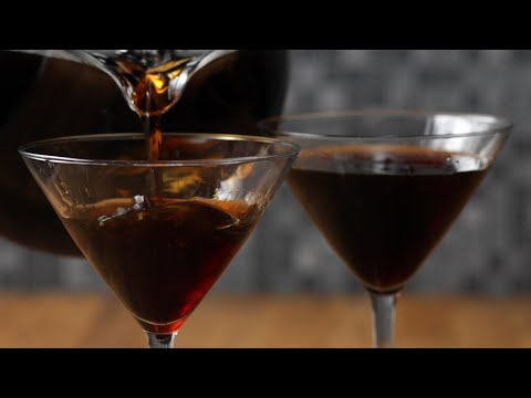 Cold Brew Martini For One Or For A Crowd ?Tasty