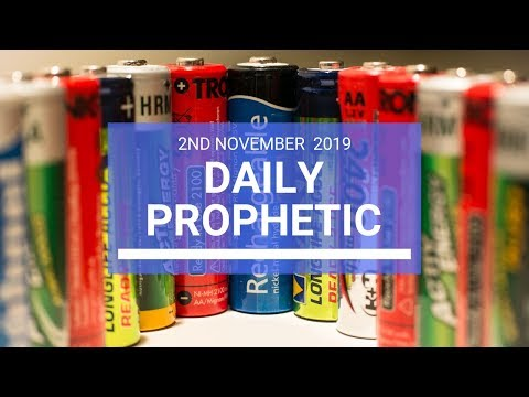 Daily Prophetic 2nd November 2019 Word 2