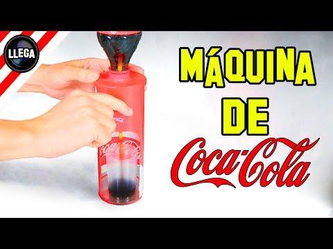 Como Hacer Una Máquina de Coca Cola - Experimentos Caseros