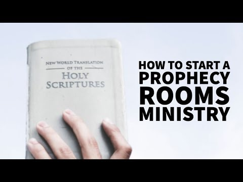 How to Start a Prophecy Rooms Ministry