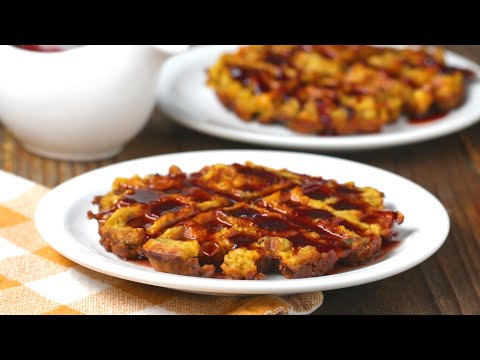 Turn Thanksgiving Leftovers Into Savory Stuffing Waffles ?Tasty