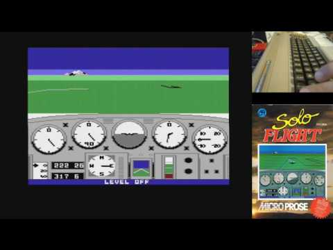 Juegos Épicos - Solo Flight - Commodore 64 real