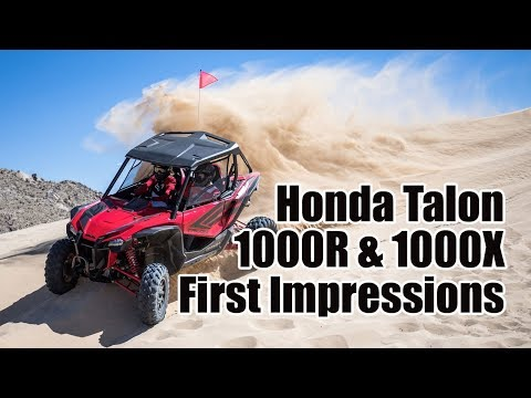 Honda Talon 1000R and 1000X Review: First Impressions