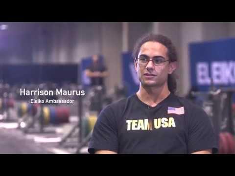 Eleiko Ambassador Harrison Maurus