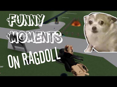 Ragdoll Funny Moments |Roblox|