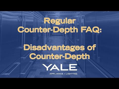Disadvantages of Counter-Depth Refrigerators