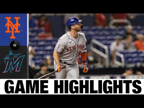 Mets vs. Marlins Game Highlights (9/7/21)   MLB Highlights