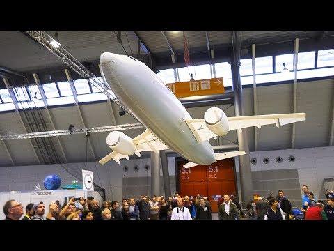 [Video]:  Dünyanın En Büyük INDOOR Uçağı - AIRBUS A-310