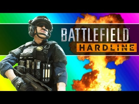 Battlefield Hardline Beta Funny Moments - Following Fun, Motorcycle Friends, Climbing Up The Crane! - UCKqH_9mk1waLgBiL2vT5b9g