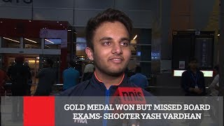Gold Medal Won But Missed Board Exams- Shooter Yash Vardhan