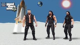 THE SHIELD VISITS SPACE ft. Roman Reigns, Seth Rollins, Dean Ambrose | WWE 2K19 Story