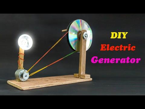 School Science Projects Electric Generator - UC2DjFE7Xf11URZqWBigcVOQ