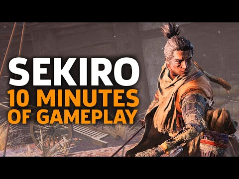 10 Minutes Of Sekiro: Shadows Die Twice Gameplay | Gamescom 2018 - UCbu2SsF-Or3Rsn3NxqODImw