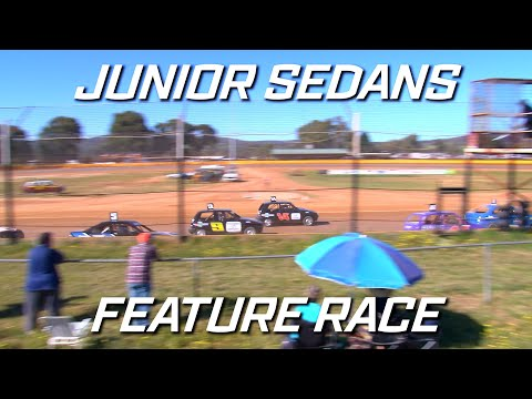 Junior Sedans New Stars: A-Main - Ellenbrook Speedway - 05.09.2021 - dirt track racing video image