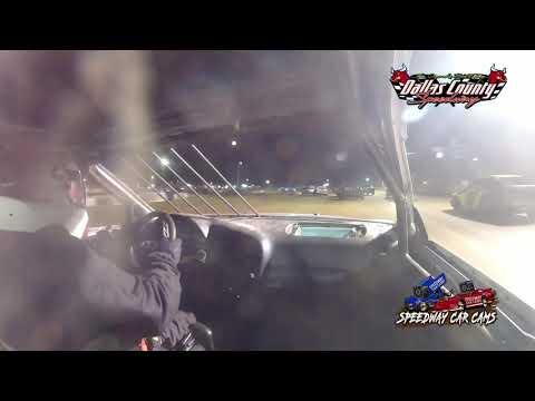 #95 Cal Mckeegan - 4 Cylinder - 7-23-2021 Dallas County Speedway - In Car Camera - dirt track racing video image