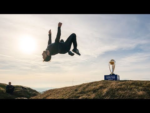 Parkour x Cricket World Cup