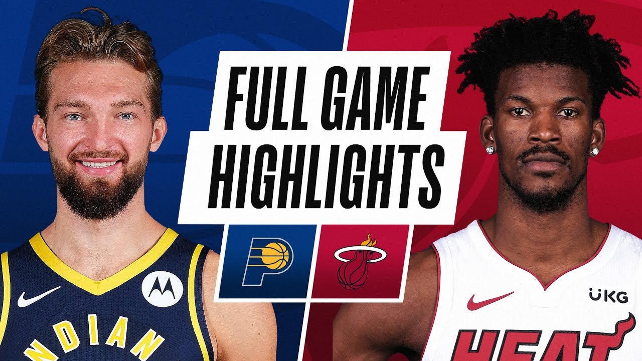 PACERS at HEAT | FULL GAME HIGHLIGHTS | March 21, 2021