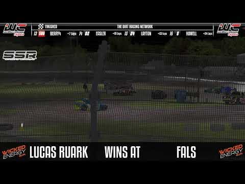 NDRA 358 Modifieds @ Fairbury - dirt track racing video image