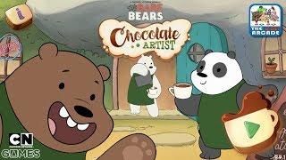 We Bare Bears: Chocolate Artist - Making Pretty Chocolate Drinks (CN Games)