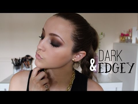 Dark Brown Smokey Eye Tutorial - UC8v4vz_n2rys6Yxpj8LuOBA
