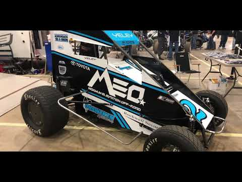 Lee Spencer of racinBoys.com talks with J J Yeley who reflects on his Chili Bowl adventure. - dirt track racing video image
