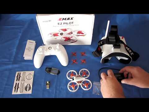 eMax EZ Pilot Beginners RTF Indoor Micro FPV Drone Flight Test Review - UC90A4JdsSoFm1Okfu0DHTuQ