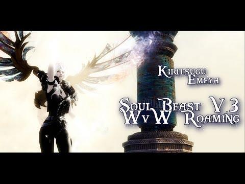 GW2- Kiritsugu Emeya [HCM] - EPIC Soulbeast VOL 3- WvW Roaming - VidVui